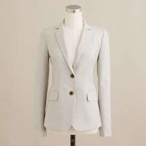 J Crew 1035 Two-Button Jacket in Super 120's Wool